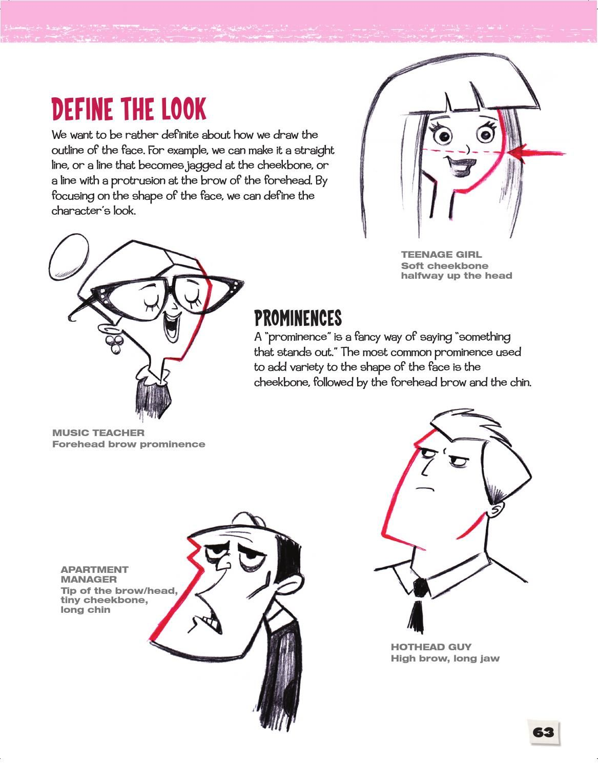 Issuu Cartoon Faces How To Draw Heads Features Expressions Academy By Sixth Spring Books