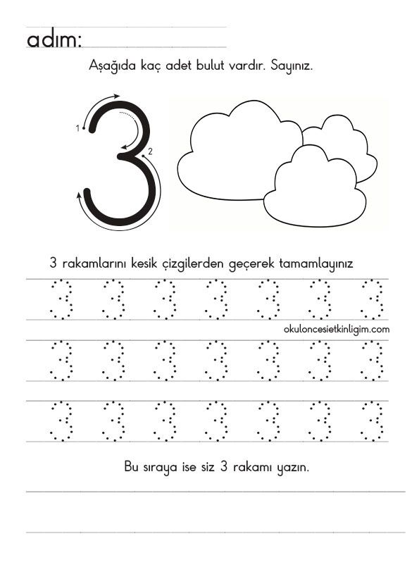 Pin by Saadet Terzioglu on saylar t Math Number and