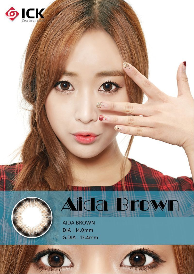 【Toric/12month】 AIDA Brown Toric / 1042 Toric, Colored