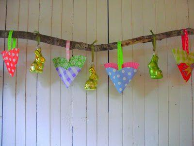 Romulyylin Kerst Blog - harten/ornamenten van cupcake vormpjes en papier