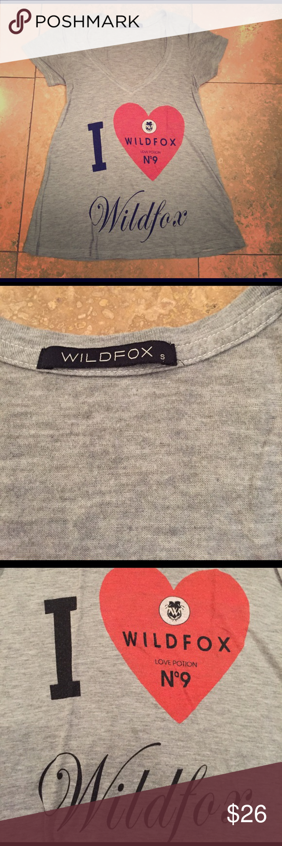 Pre 2009 Wildfox soft t-shirt Excellent preowned condition. Wildfox Tops Tees - Short Sleeve
