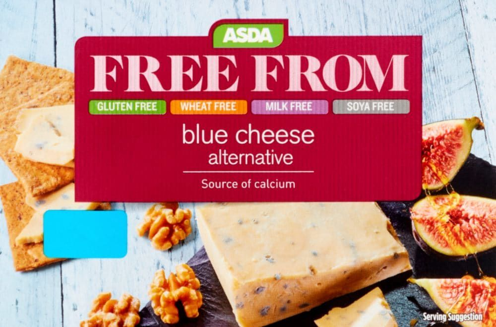 Asda Launches Own Brand Affordable Vegan Blue Cheese Affordable Vegan Blue Cheese Cheese Alternatives