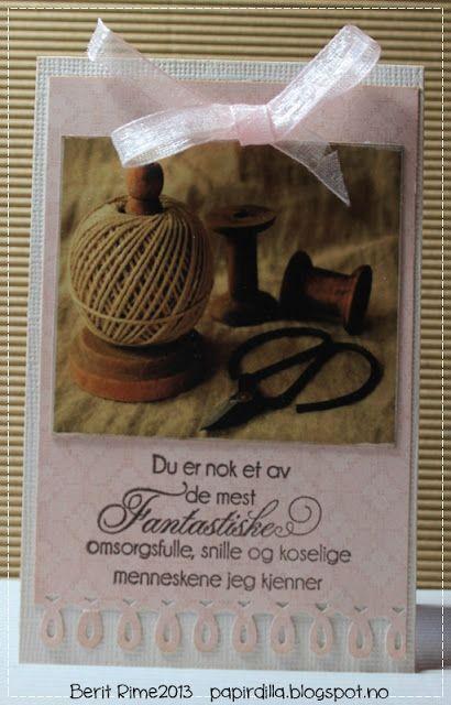 Minikort - tekst fra Kort & Godt