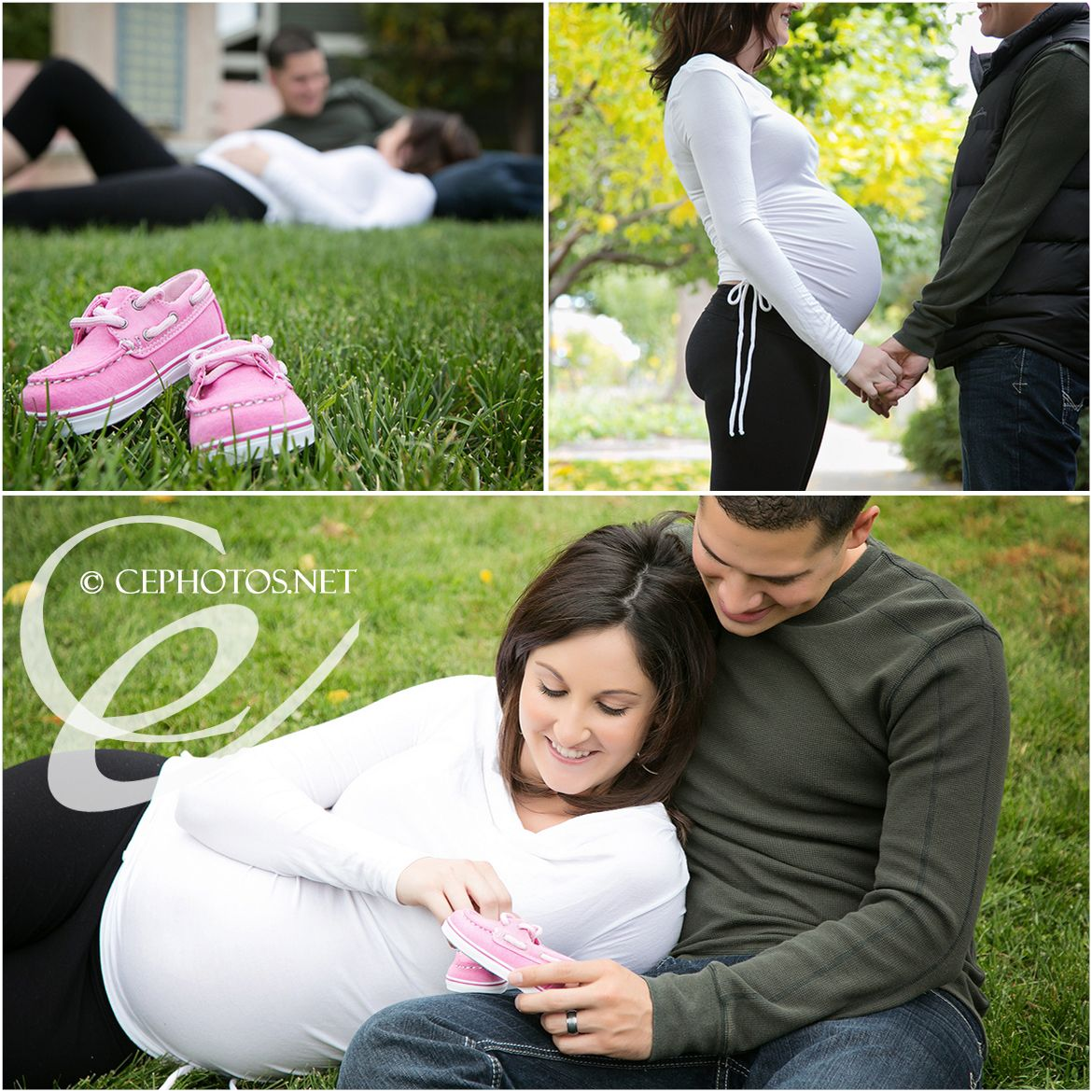 Maternity Pictures Ideas With Husband