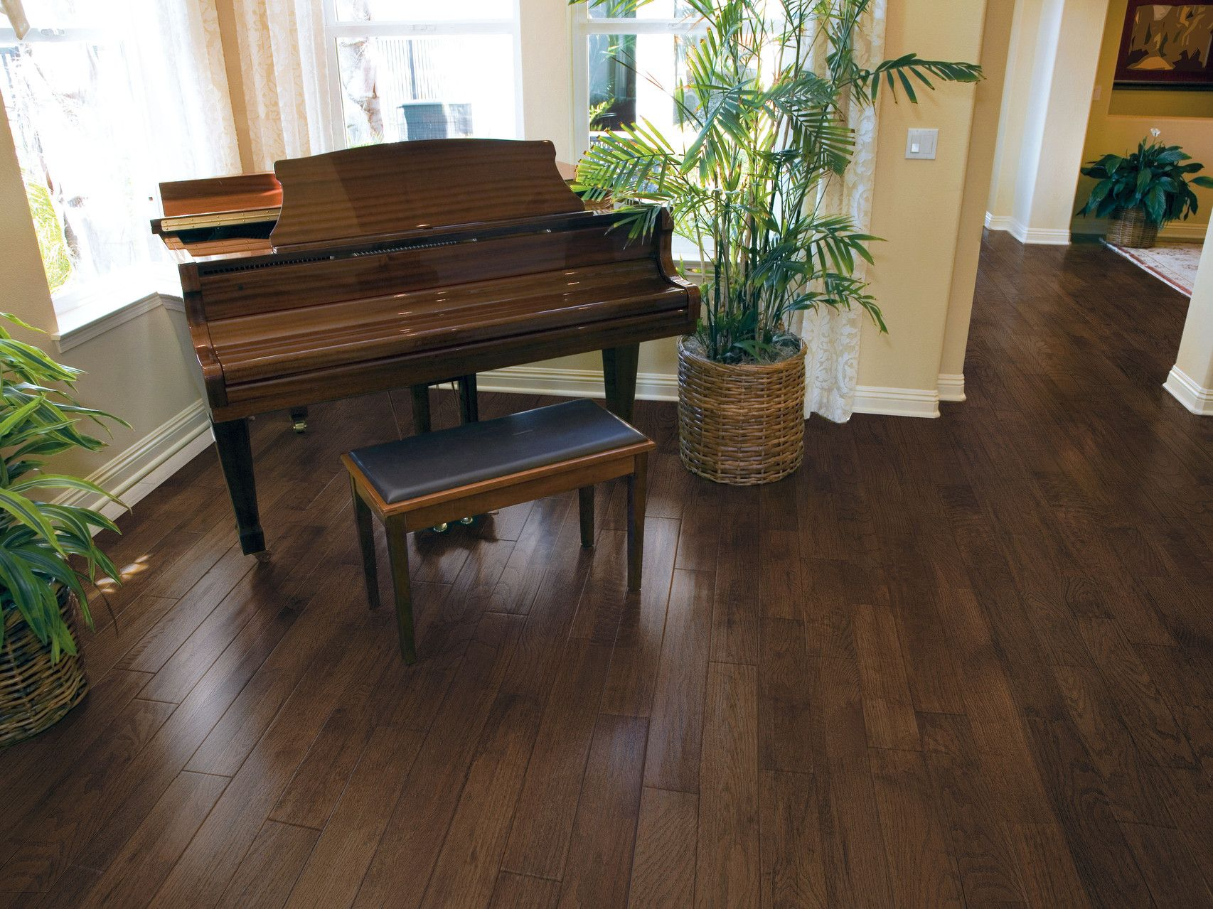 Paramount Hampton Oak Sable Engineered Flooring Home