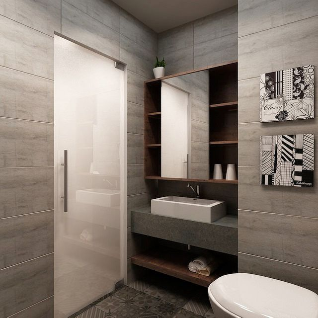 Pin by laney on hdb bto scandinavian pinterest toilet for Small bathroom design singapore
