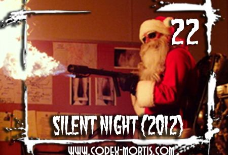 on the ninth day of christmas codex mortis gave to me woodchipper boobies review silent night 2012 12daysofchristmas christmas horror - Christmas Boobies