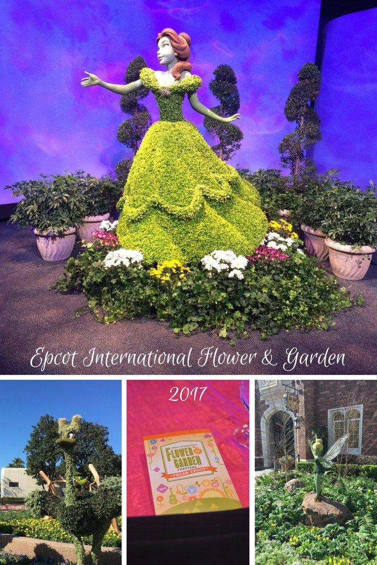 Epcot International Flower Garden Festival Preview 2017 Epcot