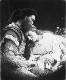 Alfred Tennyson's Idylls of the King and Other Poems, Illustrated by Julia Margaret Cameron , London: Henry S. King & Co., 1875 By Julia Margaret Cameron