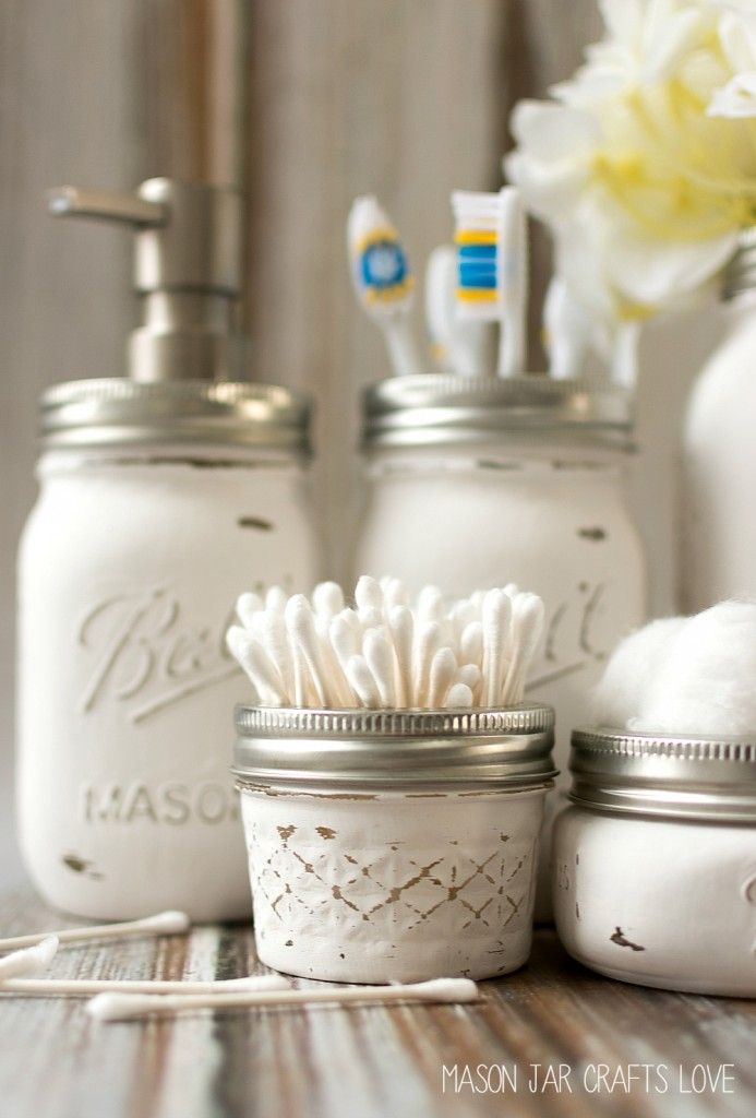 16 DIY Shabby Chic Decor Ideas is part of Home Accessories Decor Mason Jars - Here you will find 16 different DIY shabby chic decor ideas that will make your home look amazing!