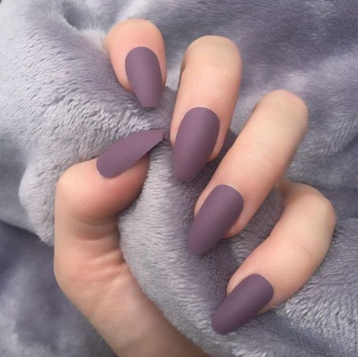 39 Trendy Fall Nails Art Designs Ideas To Look Autumnal And Charming Autumn Nail Art Ideas Fall Nail Art Matte Nails Design Coffin Nails Matte Simple Nails