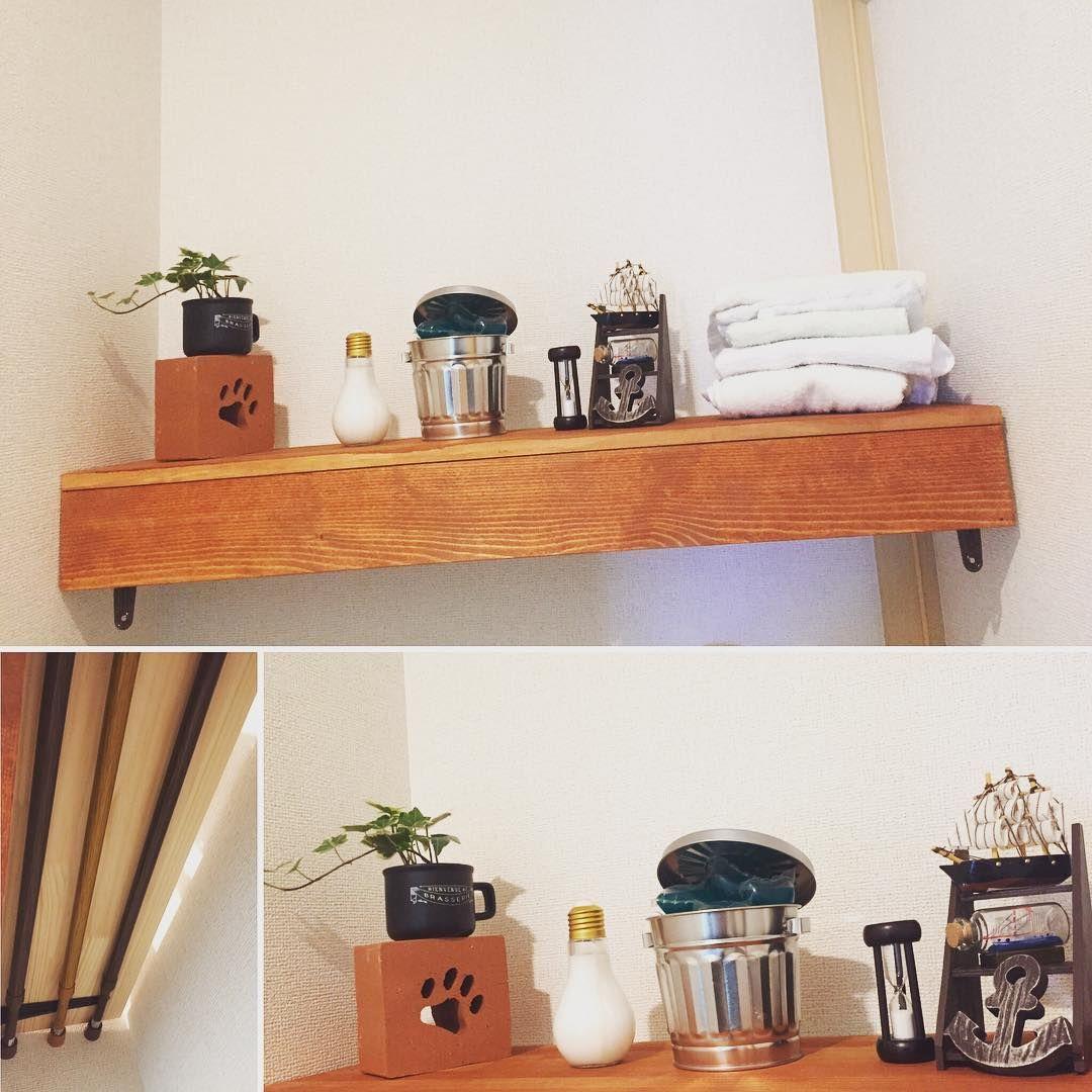 毎月更新 突っ張り棒を使った収納アイデア 実例集 棚 キッチン 洗面所 収納 アイデア トイレ 収納 棚 突っ張り棒 棚