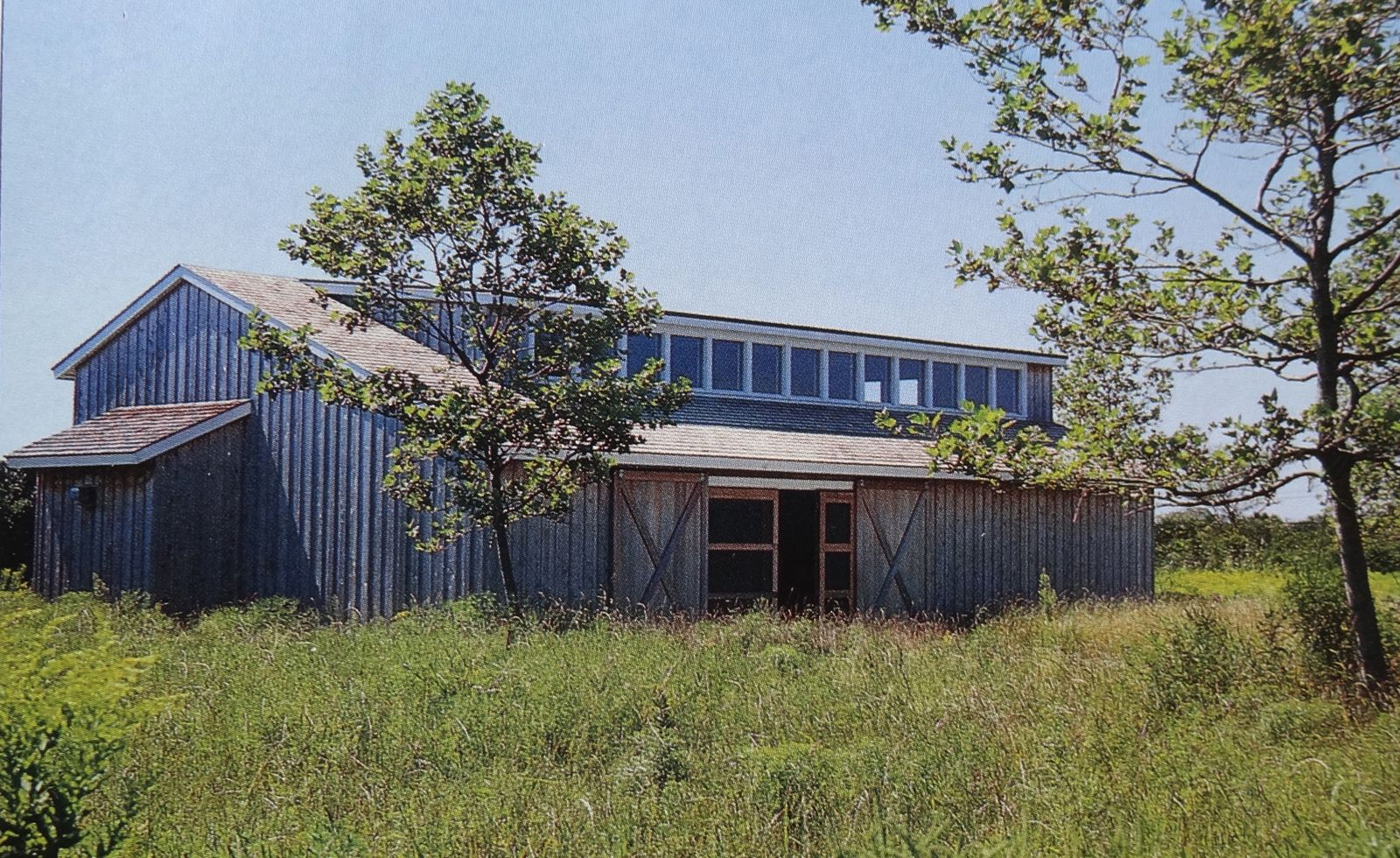 In a studio modeled after local barns clerestory windows for Clerestory house designs