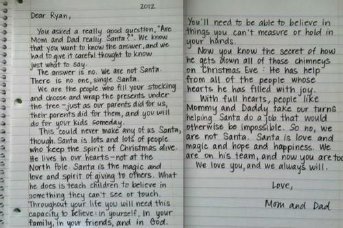 Letter to ryan from parents explaining santa cafemom mobile letter to ryan from parents explaining santa cafemom mobile spiritdancerdesigns Choice Image