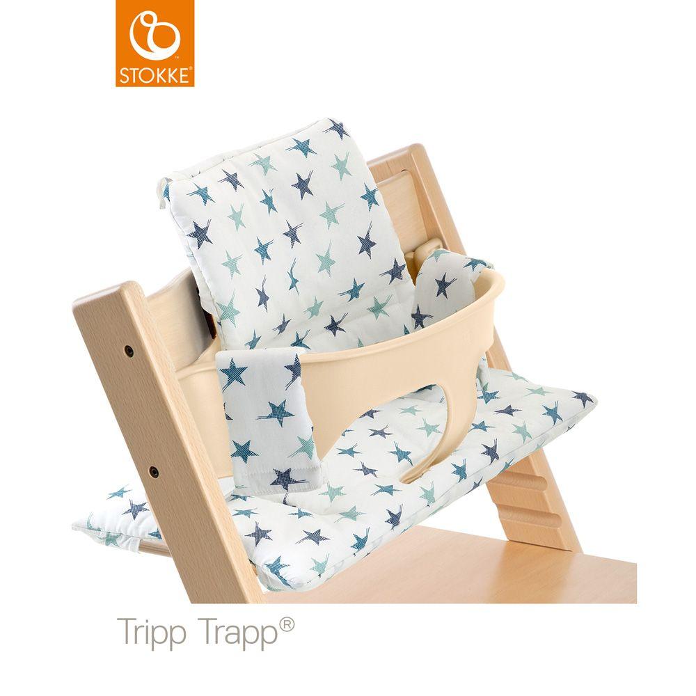 Chaise Haute Bébé Tripp Trapp Naturel + Coussin Etoiles -31% sur Allobébé  sc 1 st  Pinterest : chaise stokke tripp trapp - Sectionals, Sofas & Couches