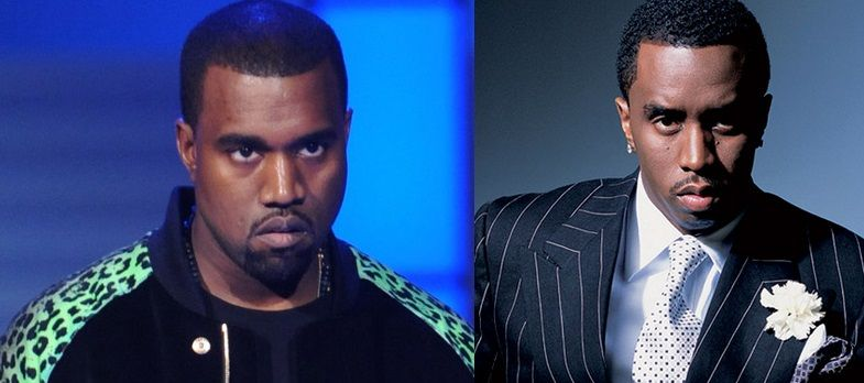 Kanye West and Sean Combs | Stars looking alike in 2019