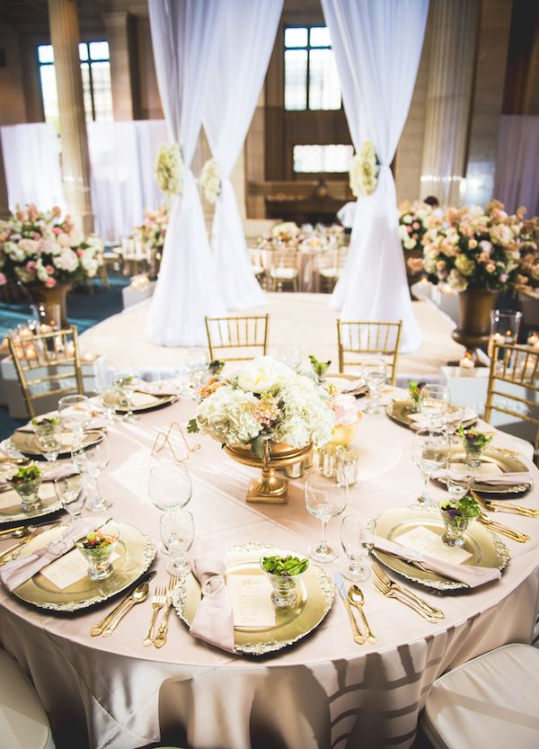 Gorgeous Wedding Reception Set Up By Studio 1524 At The Columns