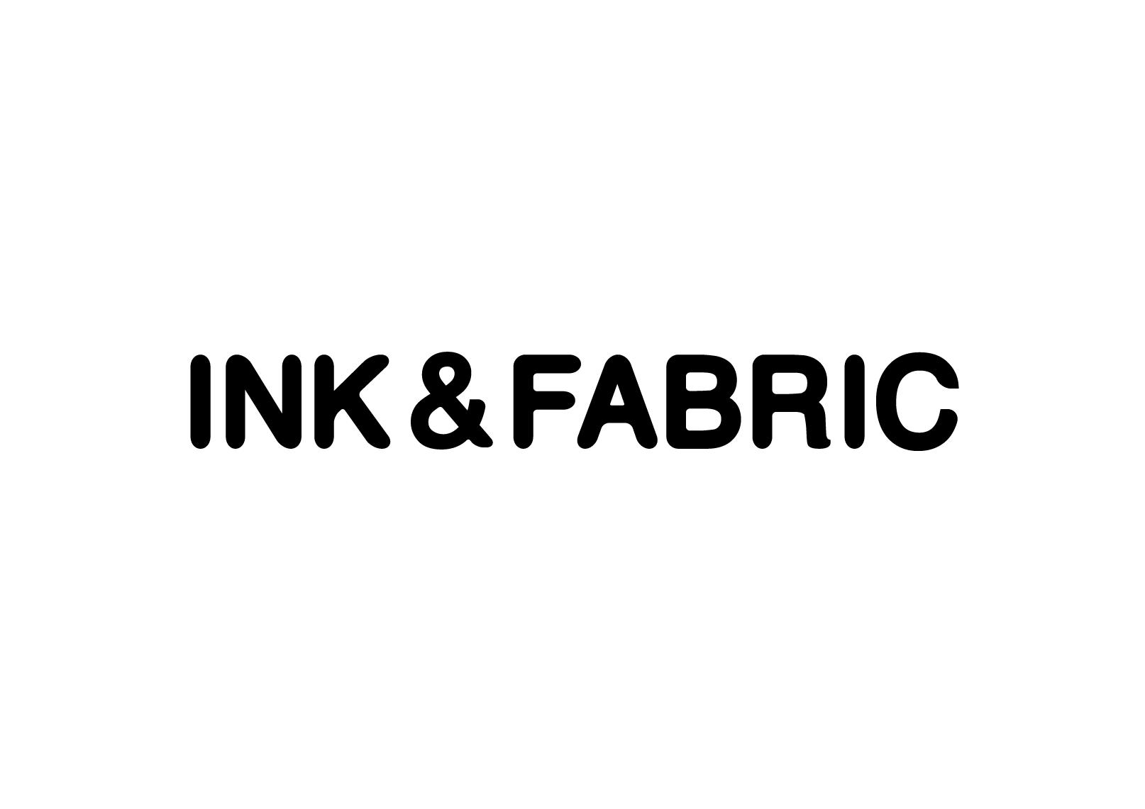 The Ink & Fabric Logo.  Website: inkandfabric.co.uk