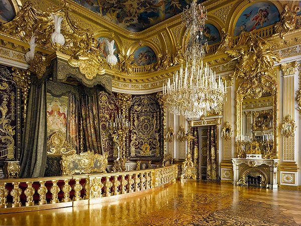 Bavarian Palace Department Palaces Herrenchiemsee New Palace Herrenchiemsee Palast Interior Schloss