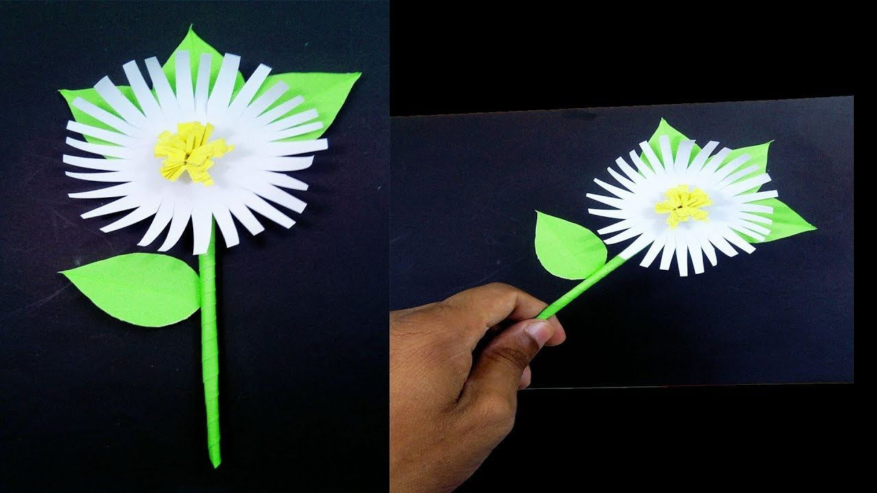 How To Make Paper Flower Very Easy And Simple To Making Paper