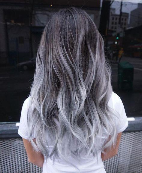 subtle dyed hair Hair