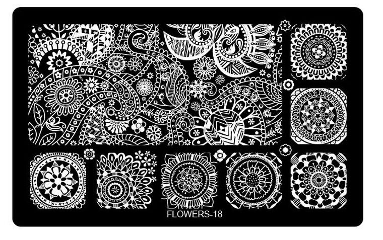 Nail Art Metal Plates images | Wish List | Pinterest