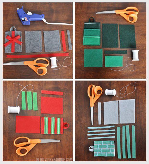 DIY Felt Gift Card Holder   Christmas Gift Card Pocket   Holiday Gift Cards    Clever