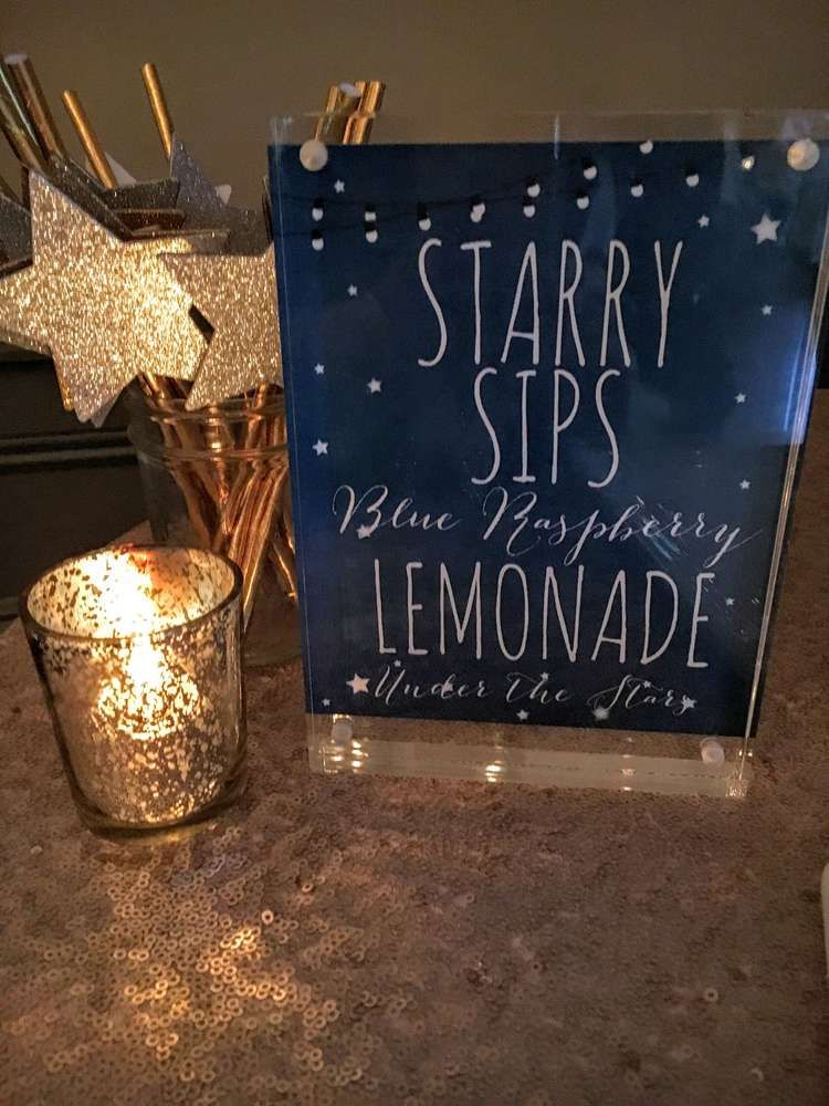 S Mores Bar Stars Twinkle Lights Paper Lanterns Starry