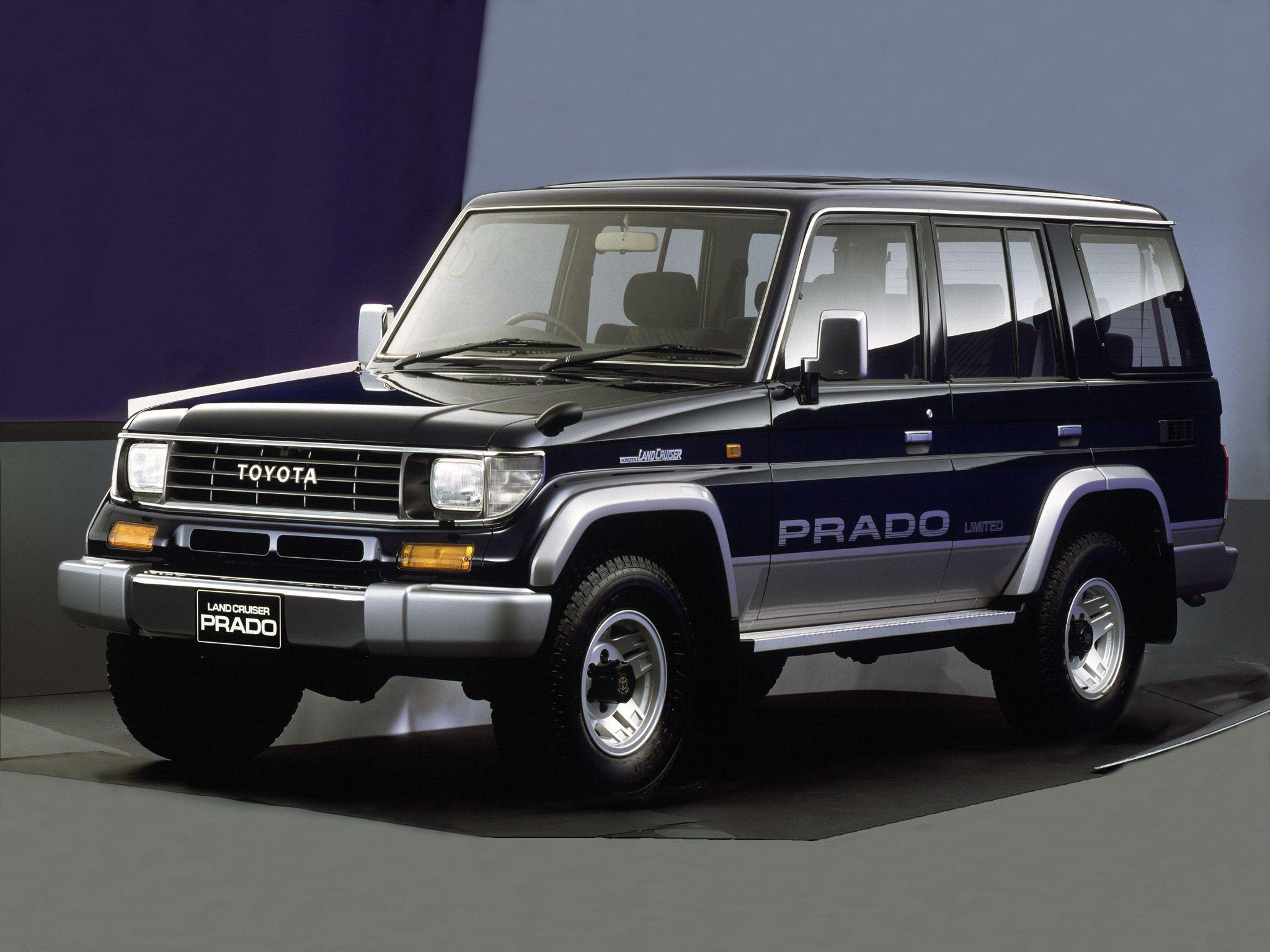 Toyota land cruiser prado memorial package kzj78w