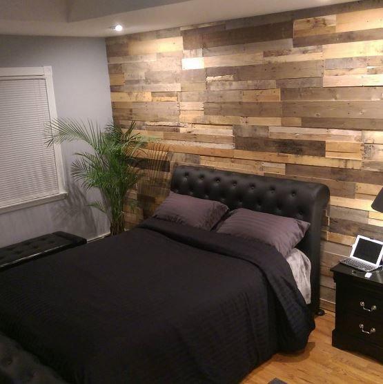 Reclaimed Wood Bedroom, Wood
