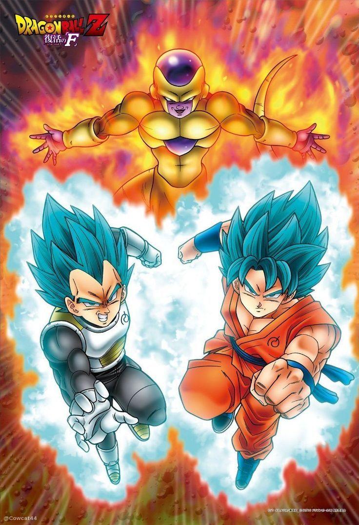 Vegeta Goku And Frieza Pinnedfromlenny Anime Dragon Ball Dragon Ball Z Dragon Ball