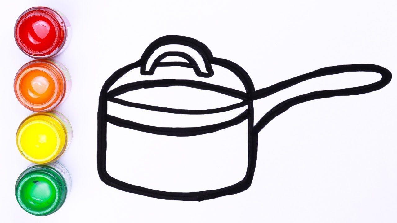 Cara Menggambar Hot Pot Untuk Balita Mudah Menggambar Dan