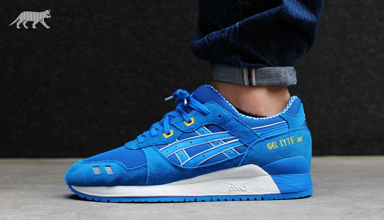 Asics Gel Lyte III CMYK Pack (mid blue mid blue) #sneaker