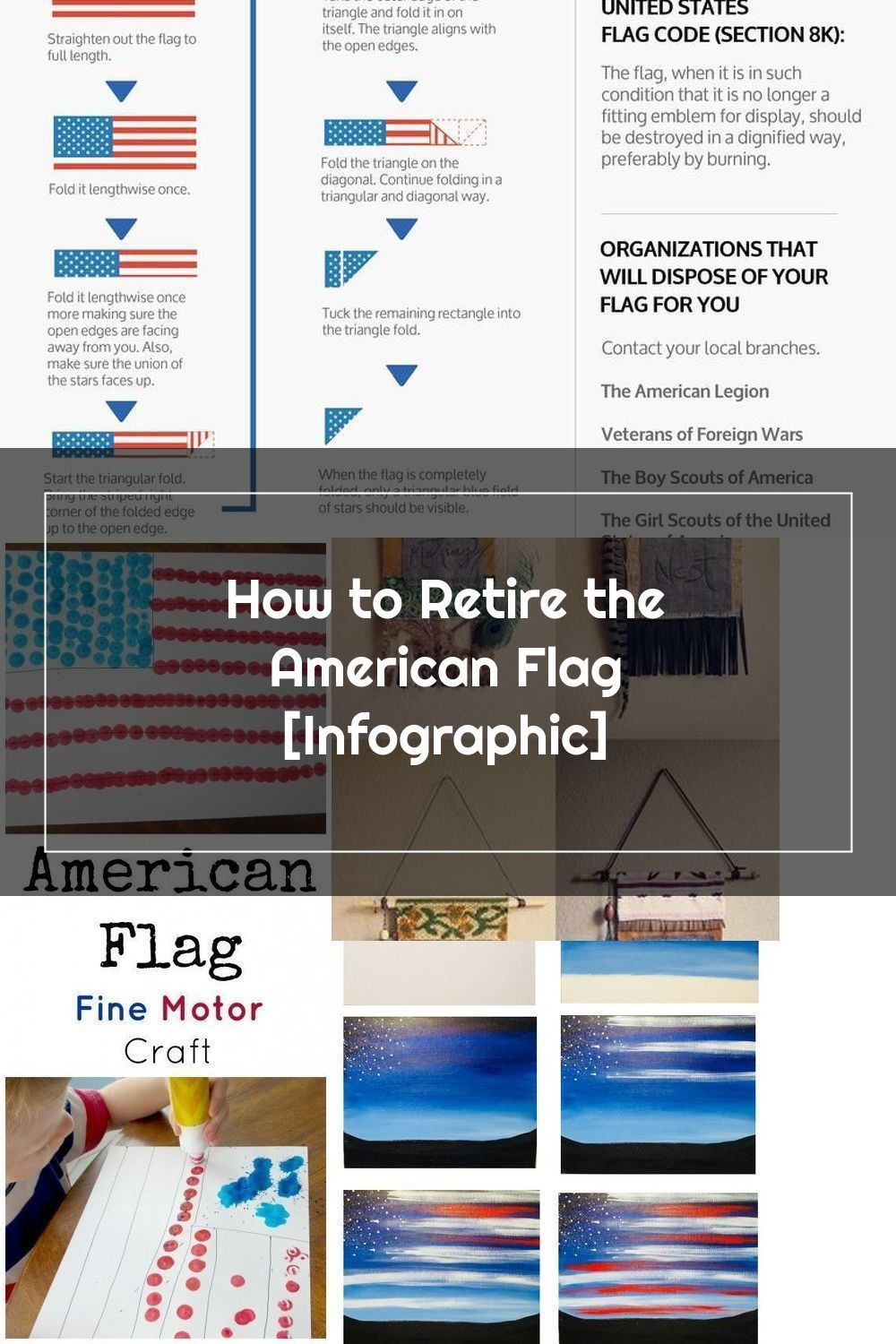 How To Retire And Properly Dispose Of Your American Flag Usflag Flag Inf In 2020 American Flag Flag Flag Code