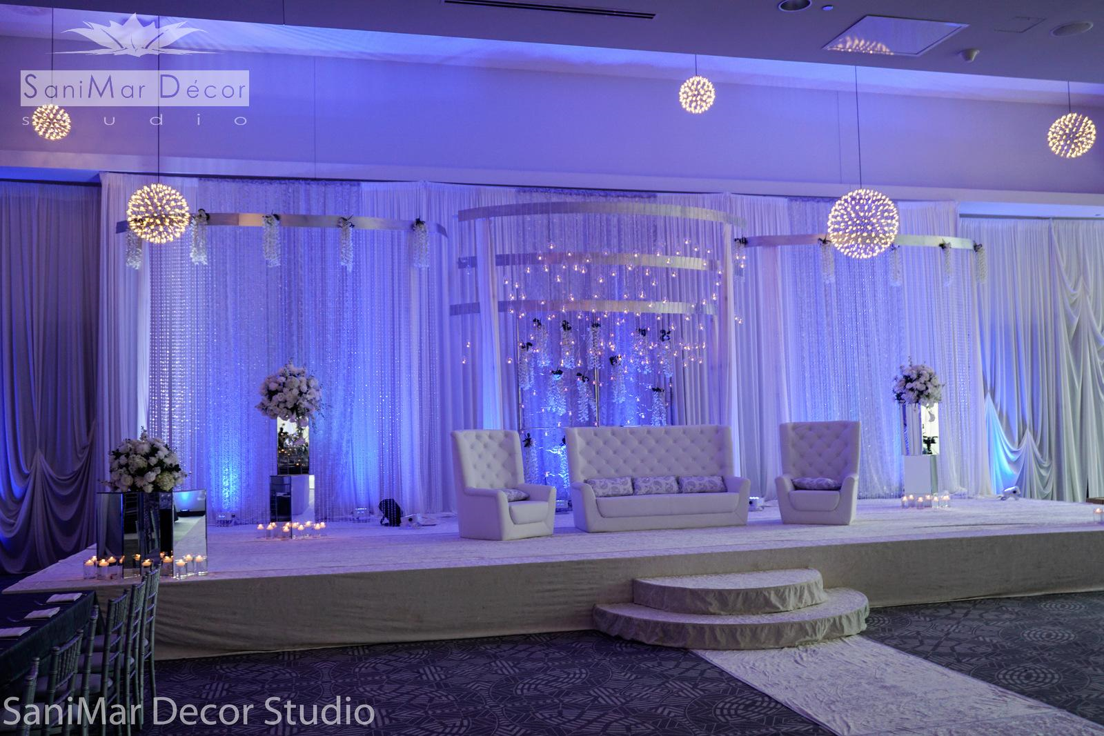 Pin by Purple Decorations on All White Party in 2019 ... Ideas Ceremony Lighting Receptioncandle on