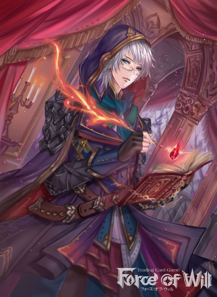 Trading Card Game 【Force of Will】.