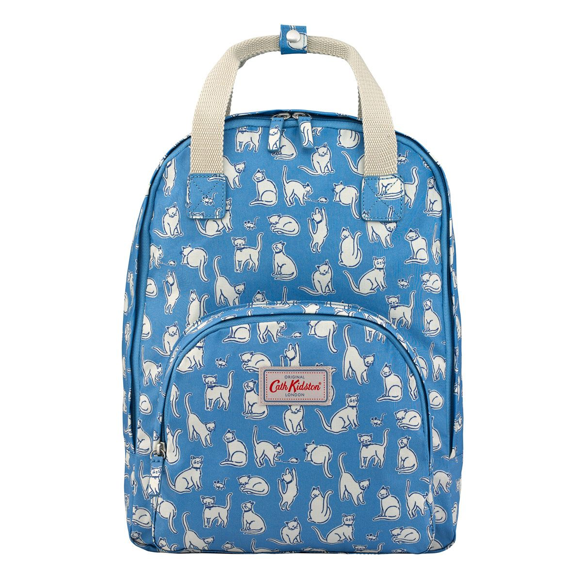88eecd7c5c8 Mono Cats Multi Pocket Backpack   View All   CathKidston   Present ...
