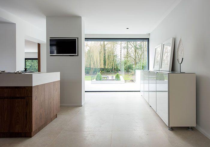 Maison moderne / Design intérieur / Contemporain / White et bois ...
