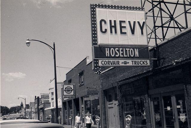 Old Hoselton Chevrolet Building Chevrolet Rochester Olds