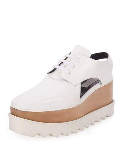 Chaussures Plate-forme Stella Mccartney Elyse - Blanc M65Zcty