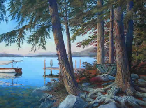 Love This Peter Ferber Print Of Nh Art Lake Winnipesaukee Wall Art