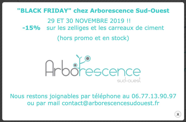 Black Friday Chez Arborescence Sud Ouest Les Vendredi 29 Et Samedi 30 Novembre 2019 Sud Ouest Arborescence Et Ouest