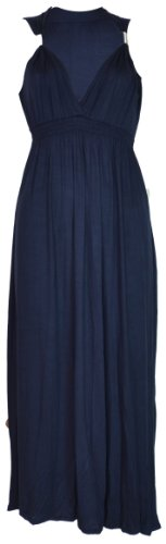 Amazon.com: Womens Ladies Coil Spring Maxi Dress: Clothing