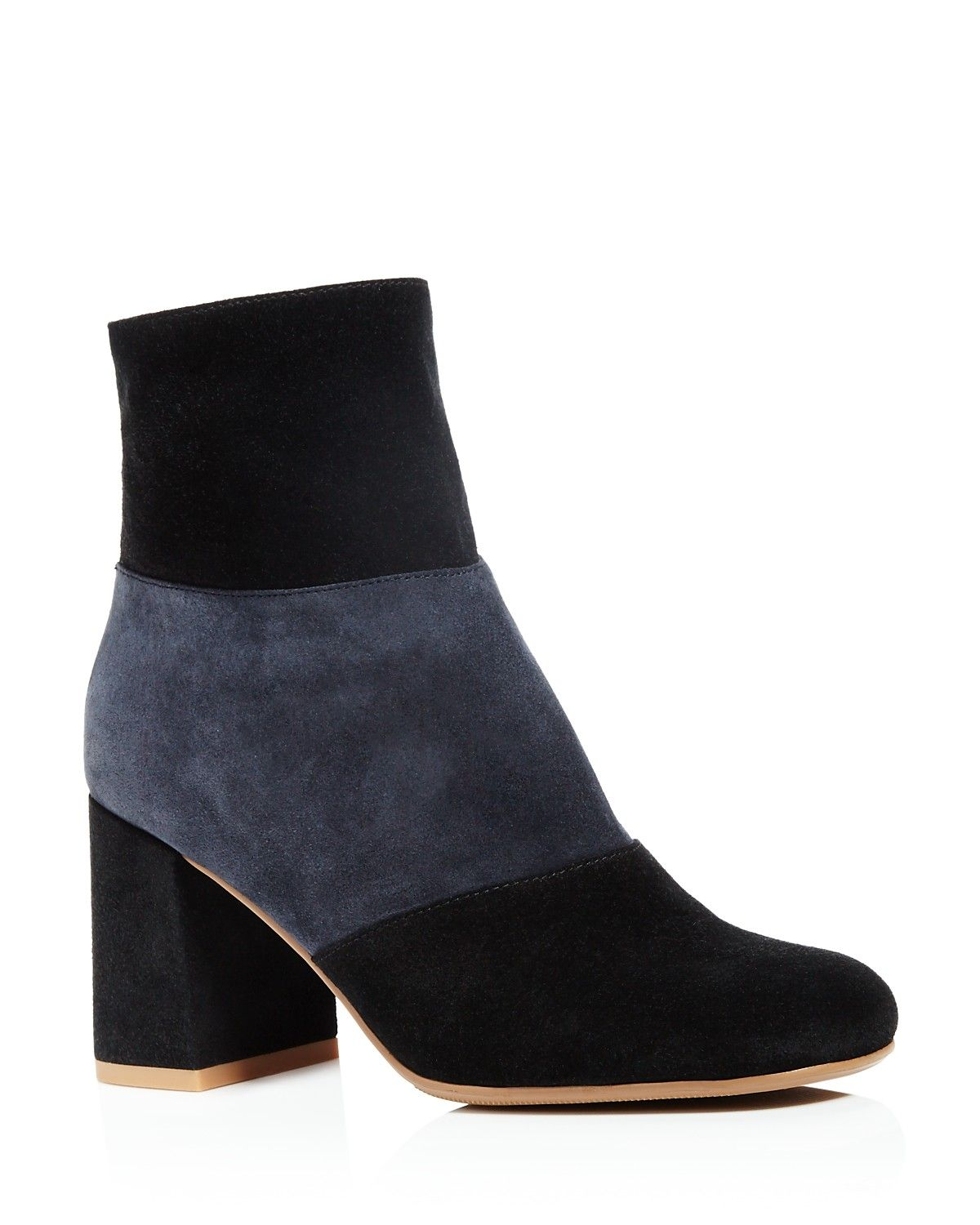 Rocker booties are trending, up +180% YoY. Try these top saved suede booties for a David Bowie-meets-city-girl vibe.