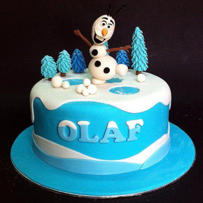 Frozen Birthday Cake Johor Bahru Cake Pinterest Cake Disney