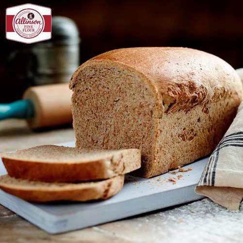 Classic Wholemeal Loaf Recipe Bakingmad Com Loaf Recipes Homemade Sandwich Recipes