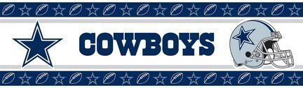 Nfl Dallas Cowboys Wall Border By Sports Coverage 19 60 Nfl