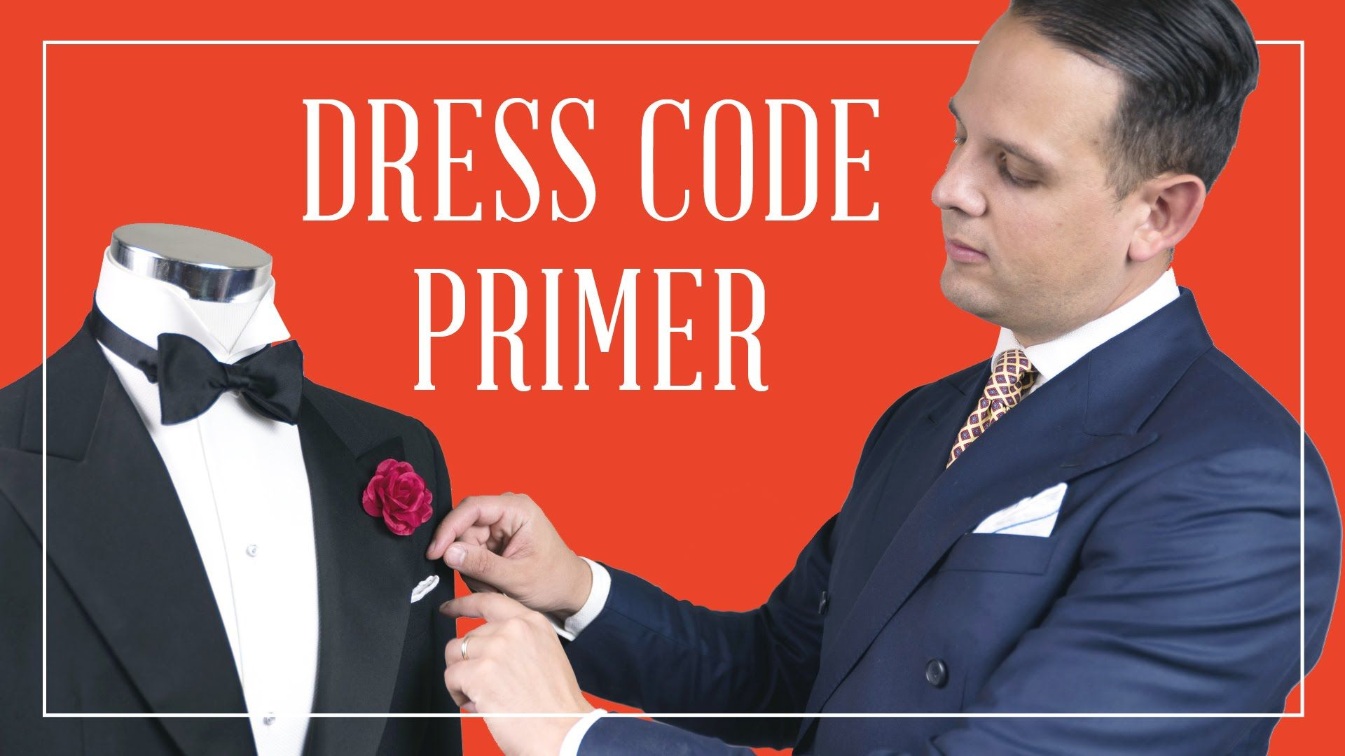Dress Code Primer - What to Wear for Black Tie Optional, Business ...