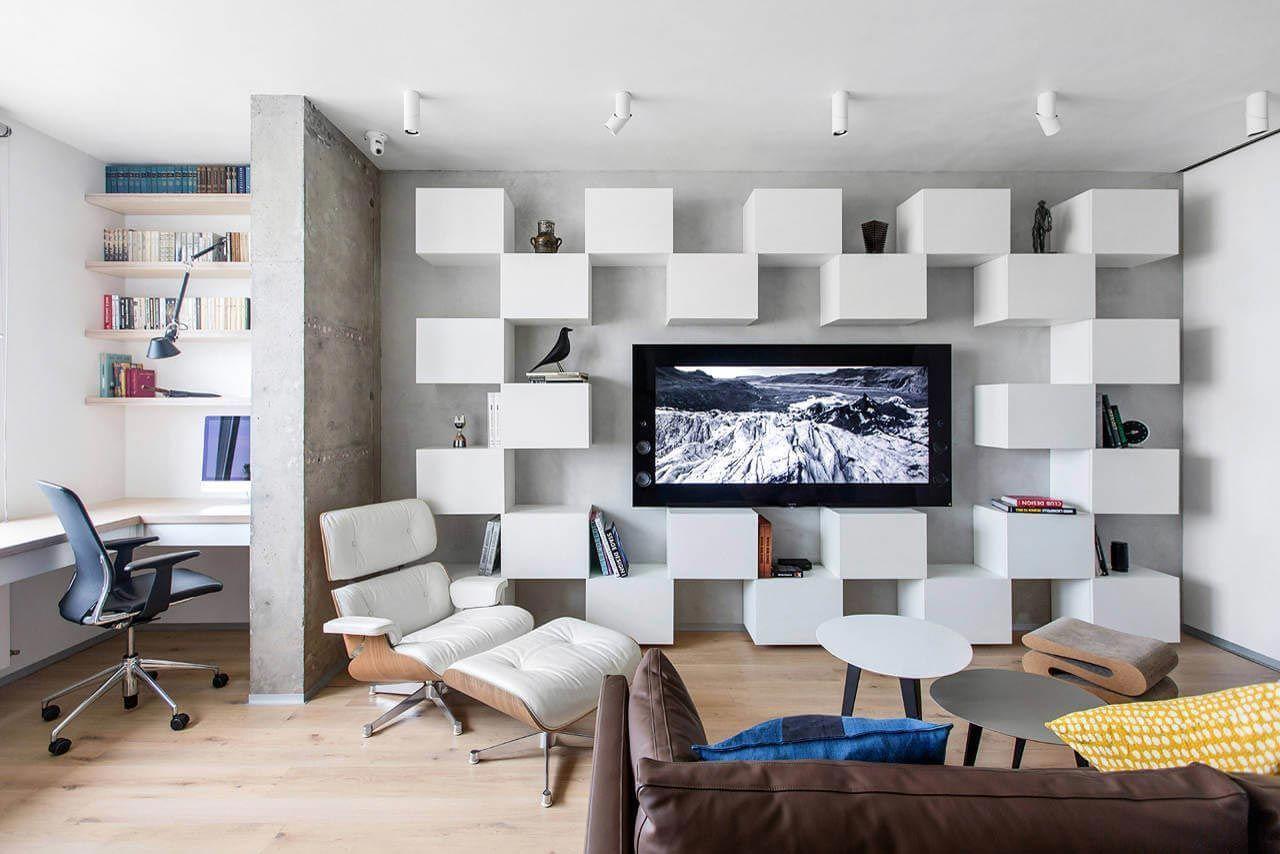 renovierte wohnung kenzo olga akulova, minimalist apartment for a creative couple in moscow by megabudka, Design ideen