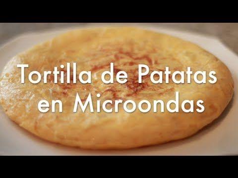 Recetas De Cocina Con Microondas | Tortilla De Patatas En Microondas Super Facil Recetas De Cocina